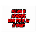 Nada es imposible… abogado postal