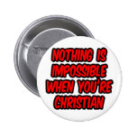 Nada es imposible… cristiano pins
