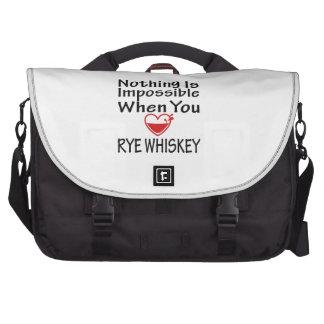 Nada es imposible cuando usted ama el whisky de Ry