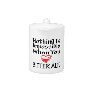 Nada es imposible cuando usted ama la cerveza ingl