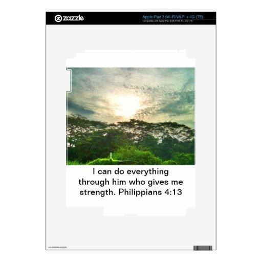 Nada es imposible pegatinas skins para iPad 3