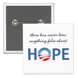Nada falso sobre la esperanza - botón