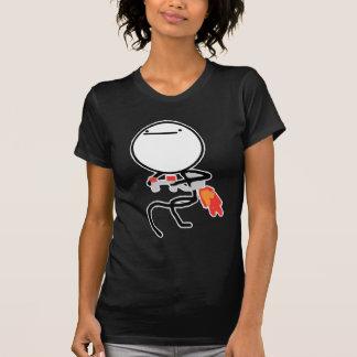Nada hacer aquí rabia cara Meme Camisetas