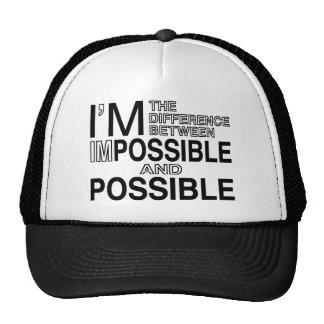Nada imposibles gorras