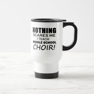 Nada me asusta coro de escuela secundaria taza