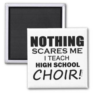 Nada me asusta que el coro de la High School secun Imán Cuadrado