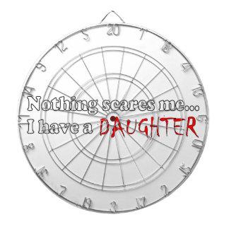 Nada me asusta… que tengo una hija tablero de dardos
