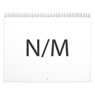 Nada Much ai Calendarios De Pared