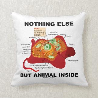 Nada pero animal dentro de la célula eucariótica cojín