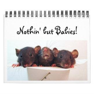 ¡Nada pero bebés! Calendario De Pared