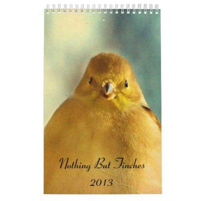 Nada pero calendario 2013 de los pinzones