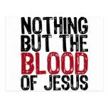 Nada pero la sangre tarjetas postales