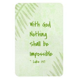 Nada será palma imposible imanes