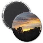Nada tan bonito como la puesta del sol de Kentucky Imán De Nevera