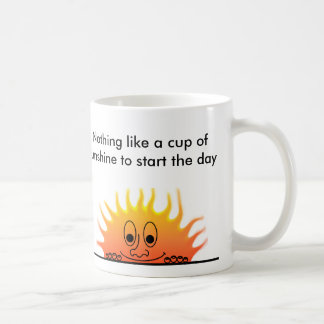 Nada tiene gusto de una taza de sunshin…