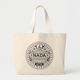 NADA TRIBAL DESIGN JUMBO TOTE BAG FOR LIFE