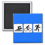 Nadada, bici, funcionamiento - Triathlon Imán De Nevera