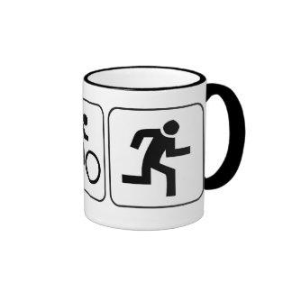 Nadada bici funcionamiento - Triathlon Tazas De Café