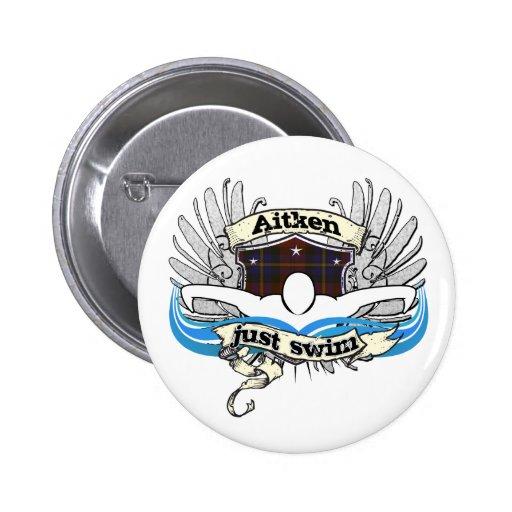 Nadada de Aitken apenas Pin Redondo 5 Cm