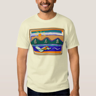 Nadada del lago camisas