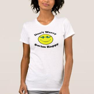 Nadada feliz camiseta