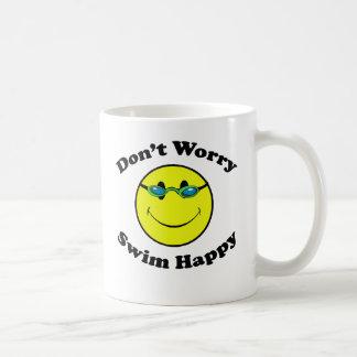 Nadada feliz taza clásica