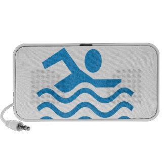Nadador 101 de la nadada del éxito de la natación altavoz de viaje