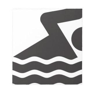 Nadador Blocs De Papel