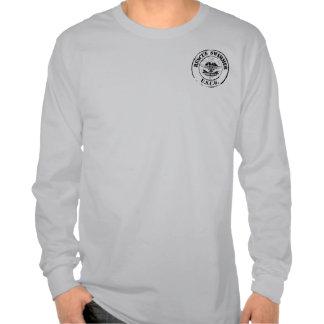 Nadador del rescate (Grunge) Camisetas