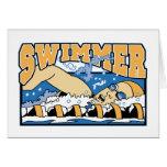 Nadador Felicitación