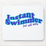 nadador inmediato alfombrillas de raton