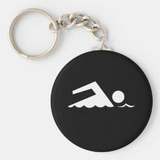 Nadador Llaveros Personalizados