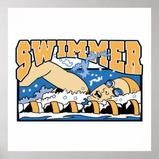 Nadador Posters