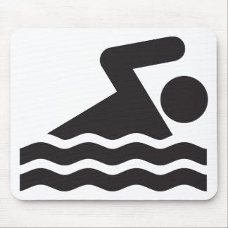 Nadador Tapete De Ratones