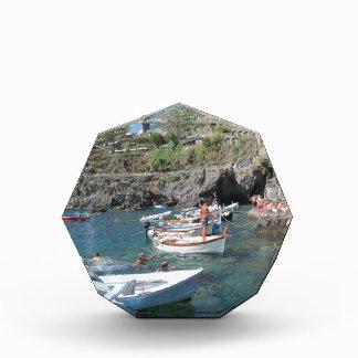 Nadadores en Cinque Terre