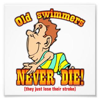 Nadadores Fotografia