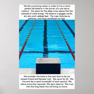Nadadores Poster