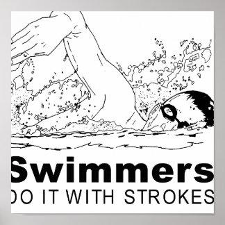 Nadadores Póster