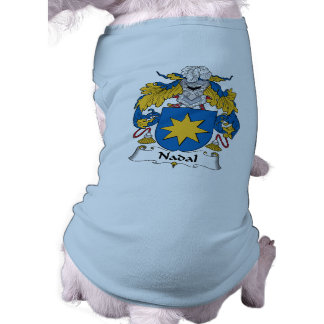 Nadal Family Crest Doggie Tshirt
