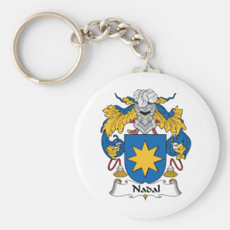 Nadal Family Crest Keychain