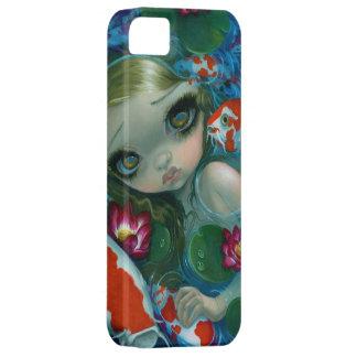 """""""Nadando con caso del iPhone 5 de Koi"""" Funda Para iPhone SE/5/5s"""