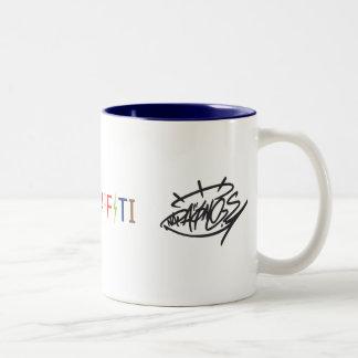 NadaOne's logo Two-Tone Coffee Mug