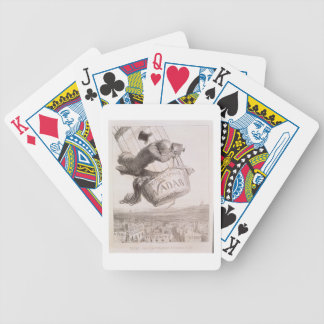 Nadar (1820-1910) elevating Photography to the hei Bicycle Playing Cards