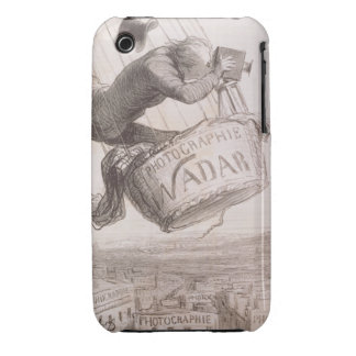 Nadar (1820-1910) elevating Photography to the hei iPhone 3 Case-Mate Case