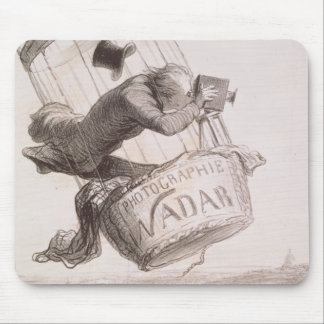 Nadar (1820-1910) elevating Photography to the hei Mouse Pad