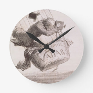 Nadar (1820-1910) elevating Photography to the hei Round Clock