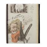 Nadar (1820-1910) title page of 'La Lune', publish iPad Folio Cover