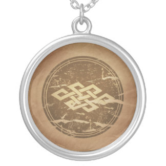 Nade Takara Nusubi Longevity Japan Silver Plated Necklace
