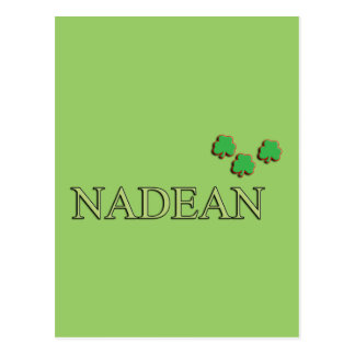 Nadean Irish Girl Postcard