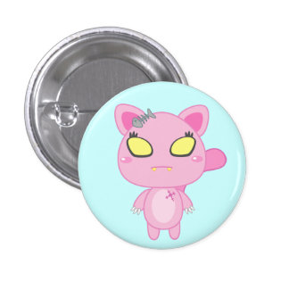 Nadel the Cat Button